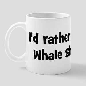 Rather be a Whale Shark Mug