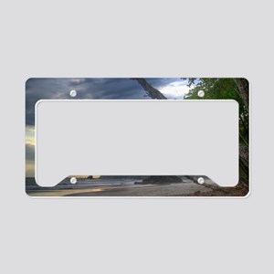 Costa Rica Beach License Plate Holder