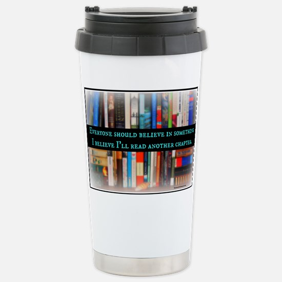 Title Wave Bookshelf Stainless Steel Travel Mug