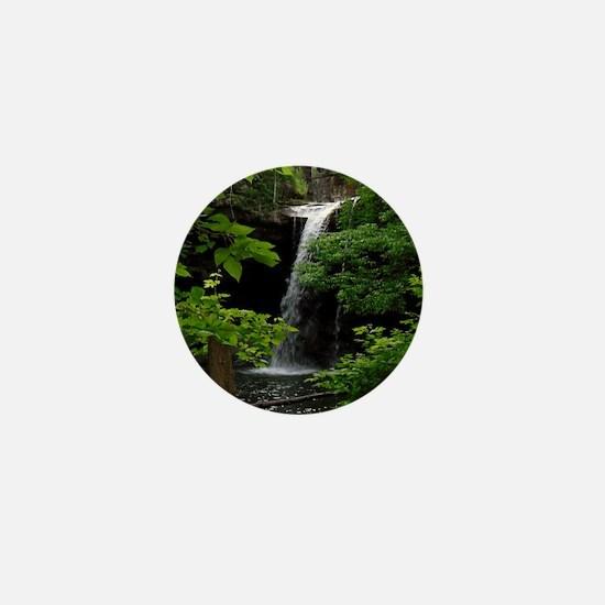 Waterfall Bliss Mini Button