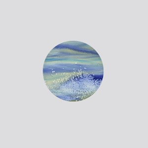 Sea Spray Shower Curtain Mini Button