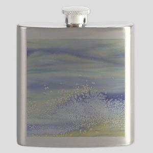 Sea Spray Shower Curtain Flask