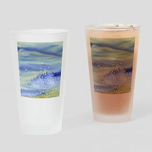 Sea Spray Shower Curtain Drinking Glass