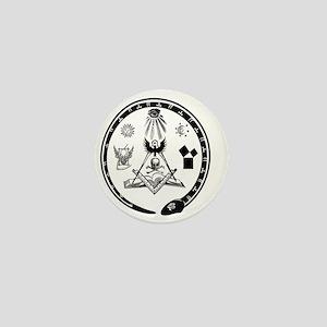 Masonic Logo Mini Button