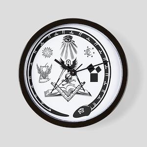 Masonic Logo Wall Clock