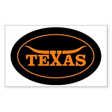 TEXAS Sticker (Rectangle)