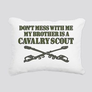 Cavalry Scout 19D Brothe Rectangular Canvas Pillow