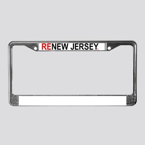 ReNew Jersey WB License Plate Frame