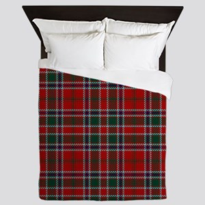 MacDonald Clan Scottish Tartan Queen Duvet