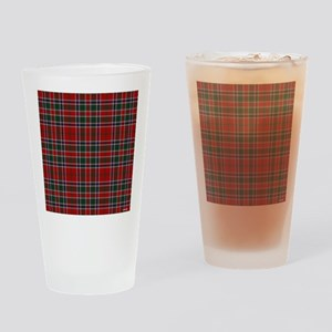 MacDonald Clan Scottish Tartan Drinking Glass