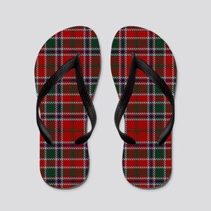 MacDonald Clan Scottish Tartan Flip Flops