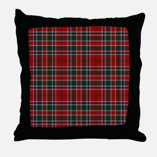 MacDonald Clan Scottish Tartan Throw Pillow