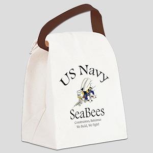 SeaBee Shirt Photo Canvas Lunch Bag