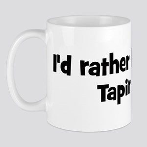 Rather be a Tapir Mug