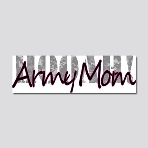 Army Mom Car Magnet 10 x 3