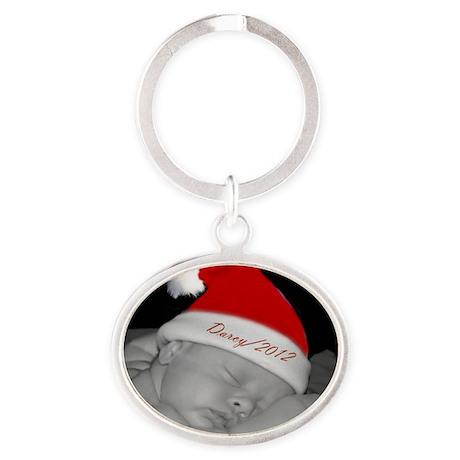 Darcy 2012 Oval Keychain