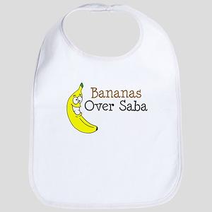 Bananas Over Saba Baby Bib