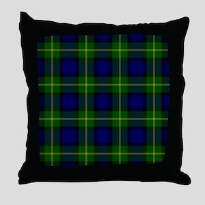 Gordon Scottish Tartan Throw Pillow
