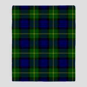 Gordon Scottish Tartan Throw Blanket