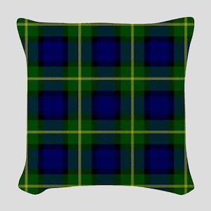 Gordon Scottish Tartan Woven Throw Pillow