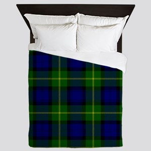 Gordon Scottish Tartan Queen Duvet