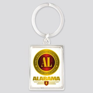 Alabama Gold Label Portrait Keychain