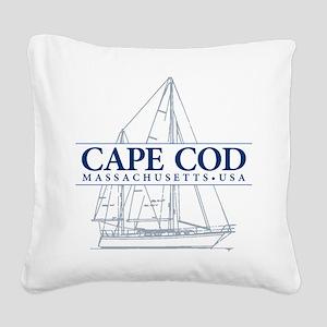 Cape Cod - Square Canvas Pillow