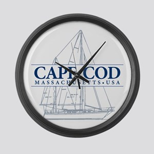 Cape Cod - Large Wall Clock