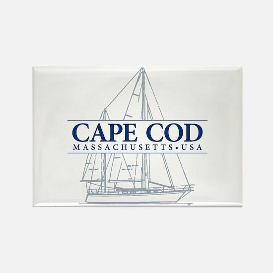 Cape Cod - Rectangle Magnet