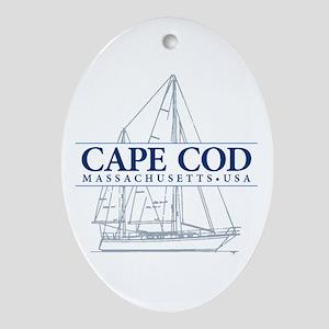 Cape Cod - Ornament (Oval)