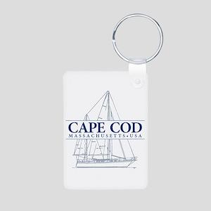 Cape Cod - Aluminum Photo Keychain