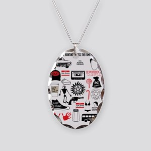 Favourite Supernatural Moments Necklace Oval Charm
