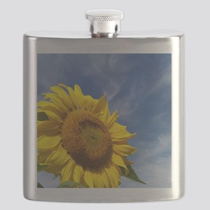 Sunflower Reaching for the Sky Flask