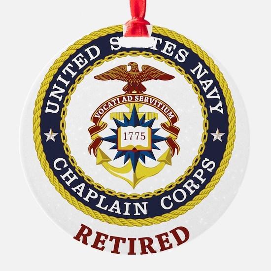 Retired US Navy Chaplain Ornament