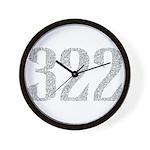 322 Wall Clock