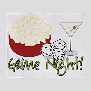 Bunco Game Night Throw Blanket