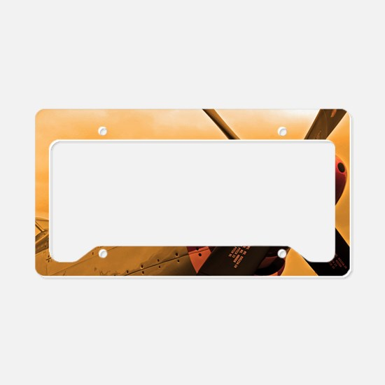 P-51 Mustang Old Crow License Plate Holder