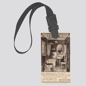 Early advertising in the 20th ce Large Luggage Tag