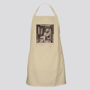 Early advertising in the 20th century. Apron