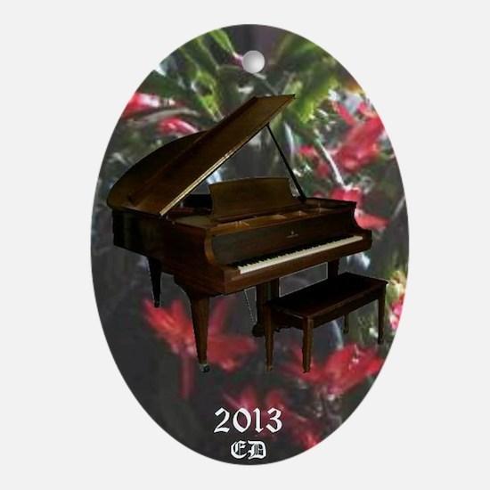 Steinway grand piano Ornament (Oval)