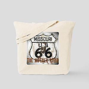 Missouri Worn 66 Tote Bag