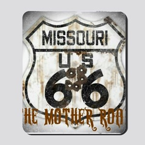 Missouri Worn 66 Mousepad