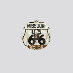 Missouri Worn 66 Mini Button