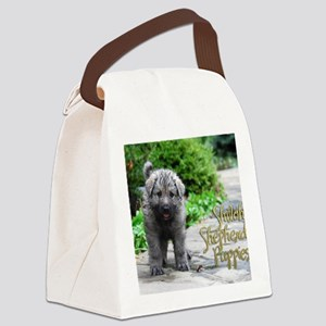 2013 Shiloh Pupppy Canvas Lunch Bag