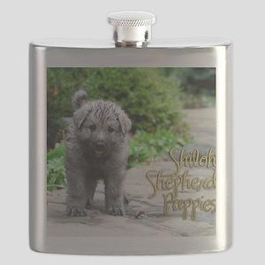 2013 Shiloh Pupppy Flask