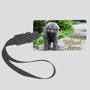 2013 Shiloh Pupppy Large Luggage Tag