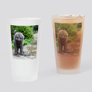 2013 Shiloh Pupppy Drinking Glass
