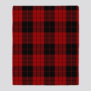 McCleod MacCleod Tartan Plaid Throw Blanket