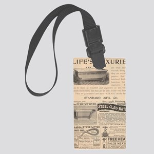 Back in The Day Large Luggage Tag