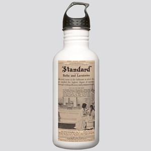 Early advertising in t Stainless Water Bottle 1.0L